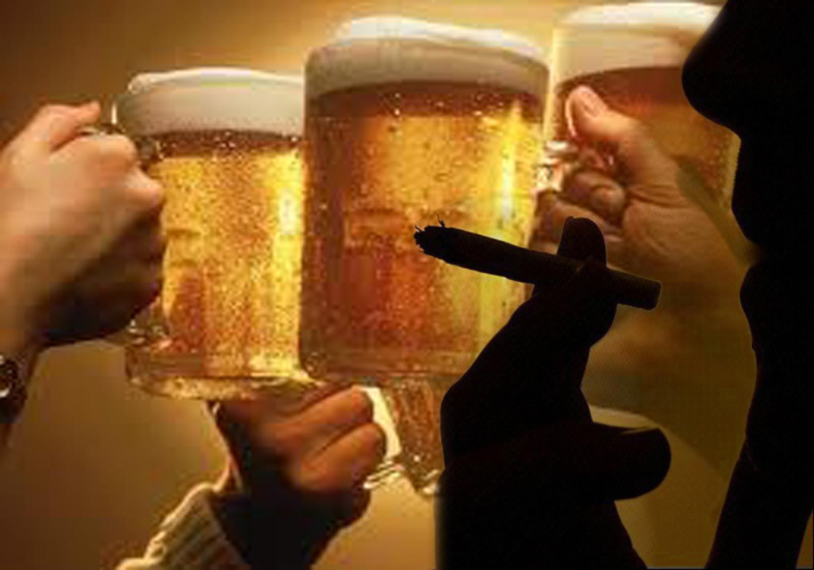 La codificación del alcoholismo los pinchazos de la consecuencia